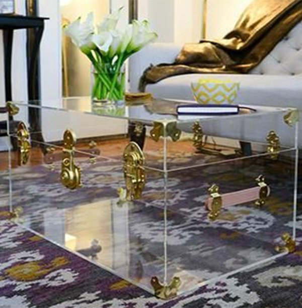 Impressive Widely Used All Glass Coffee Tables With Creative And Chic Glass Coffee Table Ideas (Image 25 of 50)