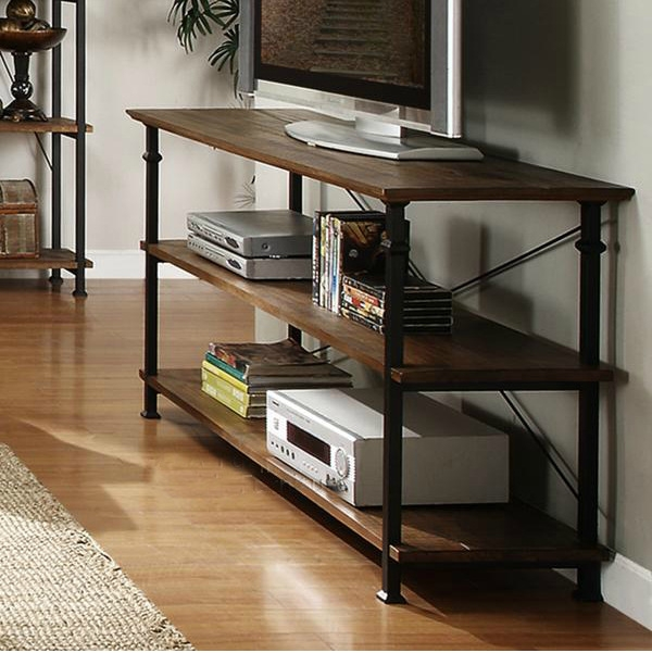 Impressive Widely Used Country Style TV Stands Regarding Country Wood Furniture Wrought Iron Racks Old Retro Style Wood (View 47 of 50)