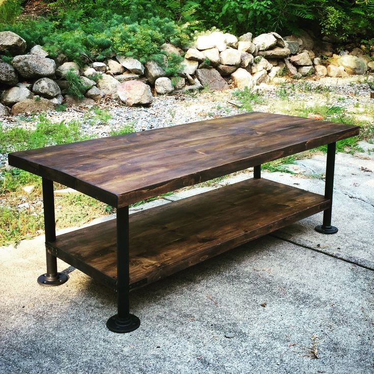 Impressive Widely Used Industrial Style Coffee Tables Intended For Best 25 Coffee Table Legs Ideas Only On Pinterest Shanty 2 Chic (View 23 of 50)