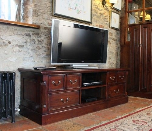 Impressive Widely Used Mahogany TV Cabinets Pertaining To Best 25 Television Cabinet Ideas On Pinterest White Tv Cabinet (View 8 of 50)