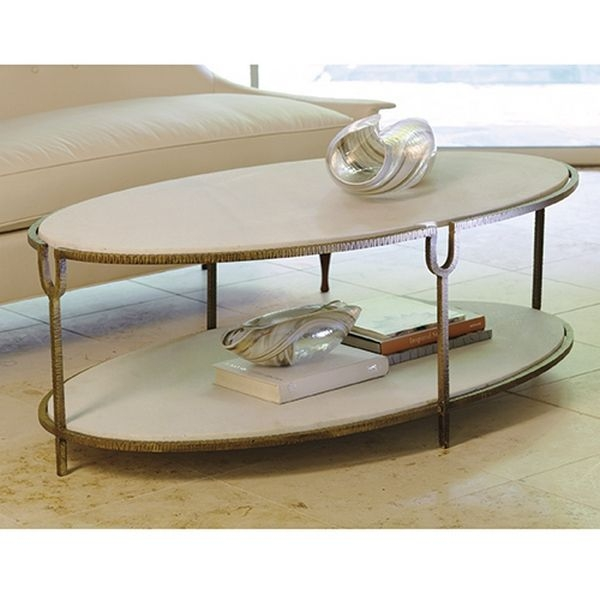 Impressive Widely Used Metal Oval Coffee Tables Intended For 19 Best Oval Coffee Tables Images On Pinterest Oval Coffee (Image 26 of 50)
