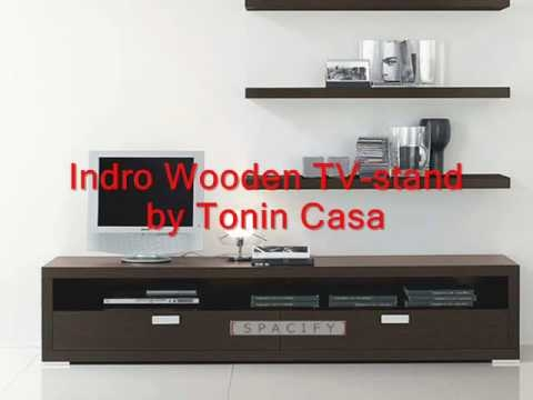 Impressive Widely Used Plasma TV Stands For Modern Wood Tv Stands Contemporary Plasma Tv Stand Youtube (Image 32 of 50)
