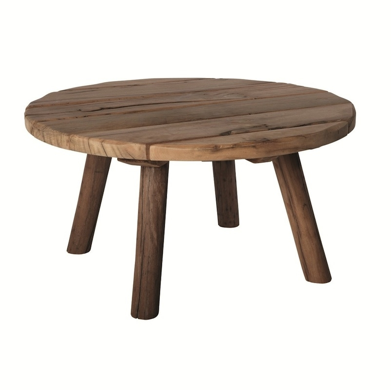 Impressive Widely Used Round Glass And Wood Coffee Tables Pertaining To Round Wood Coffee Tables (Image 32 of 50)