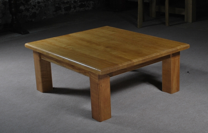 Impressive Widely Used Square Oak Coffee Tables With Regard To European Oak Coffee Table From The Oak And Pine Barn Hampshire (View 13 of 50)
