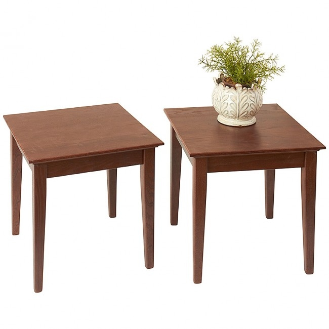Impressive Widely Used Stackable Coffee Tables For Stacking End Tables Shaker Furniture Style Manchesterwood (Image 23 of 50)