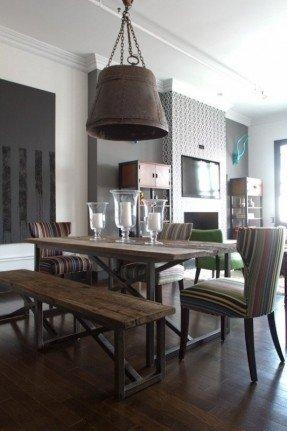 Industrial Style Dining Table – Foter Intended For Industrial Style Dining Tables (Image 16 of 20)