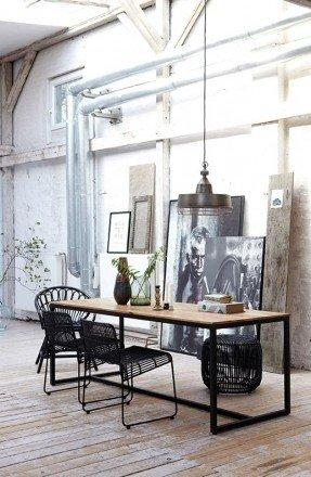 Industrial Style Dining Table – Foter With Industrial Style Dining Tables (Image 18 of 20)