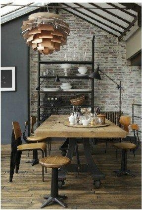 Industrial Style Dining Table – Foter With Industrial Style Dining Tables (Image 17 of 20)