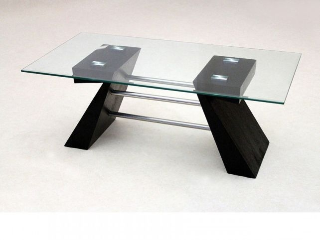 Innovative Best Black Wood And Glass Coffee Tables Intended For Perfect Black Wood Coffee Table Ideas (Image 26 of 49)