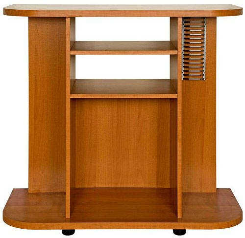 Innovative Best Light Cherry TV Stands Intended For Tiffany Deluxe Light Cherry Finish Tv Stand Free Shipping Today (Image 38 of 50)