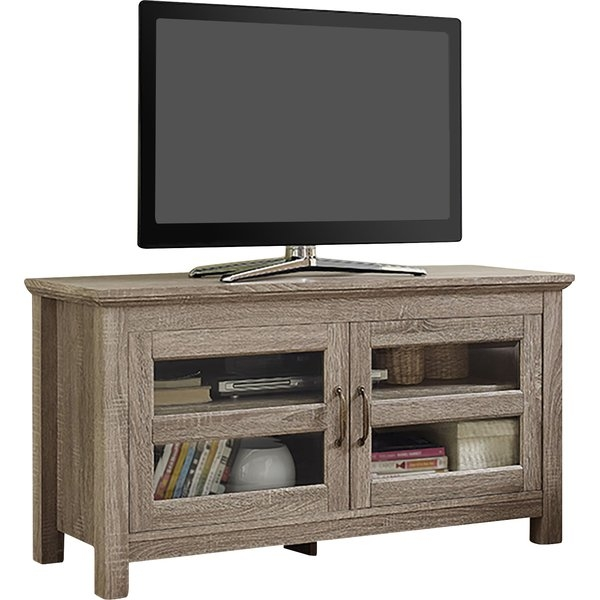 Innovative Best Light Oak Corner TV Stands For Modern Contemporary Tv Stands Youll Love Wayfair (Image 26 of 50)