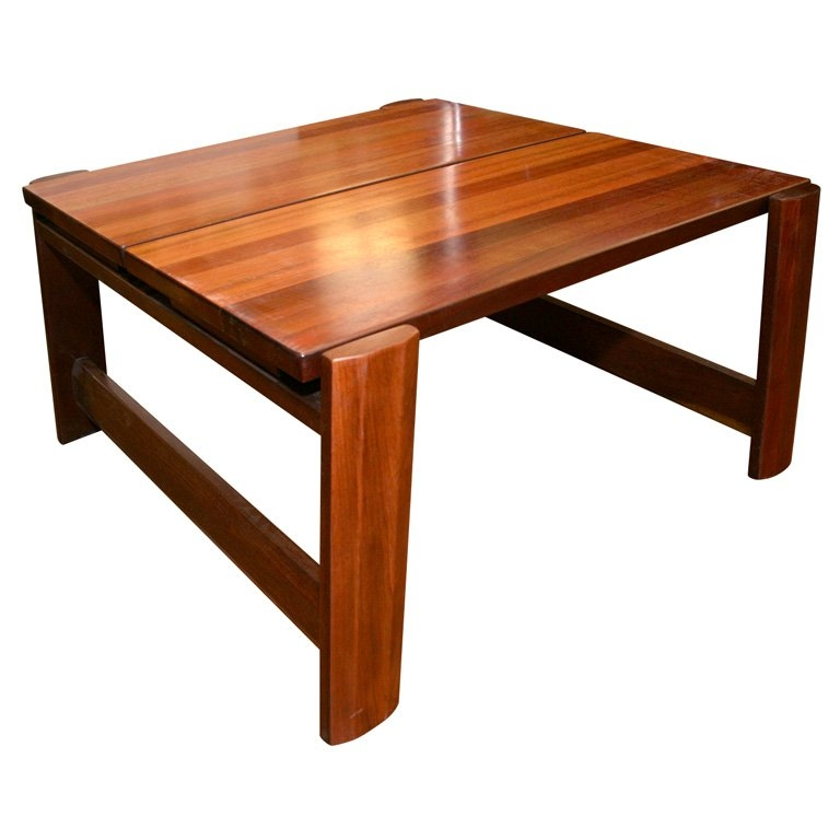 Innovative Best Mahogany Coffee Tables Pertaining To Solid Mahogany Coffee Table For Sale At 1stdibs (Image 23 of 50)