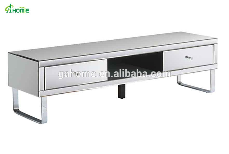 Innovative Best Mirrored TV Cabinets Inside Chelsea Mirrored Media Tv Cabinet Stand Buy Media Tv Cabinet (View 4 of 50)