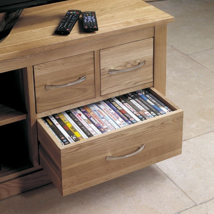 Innovative Best Oak TV Cabinets With Regard To Baumhaus Mobel Oak Widescreen Television Cabinet Cor09b (Image 29 of 50)