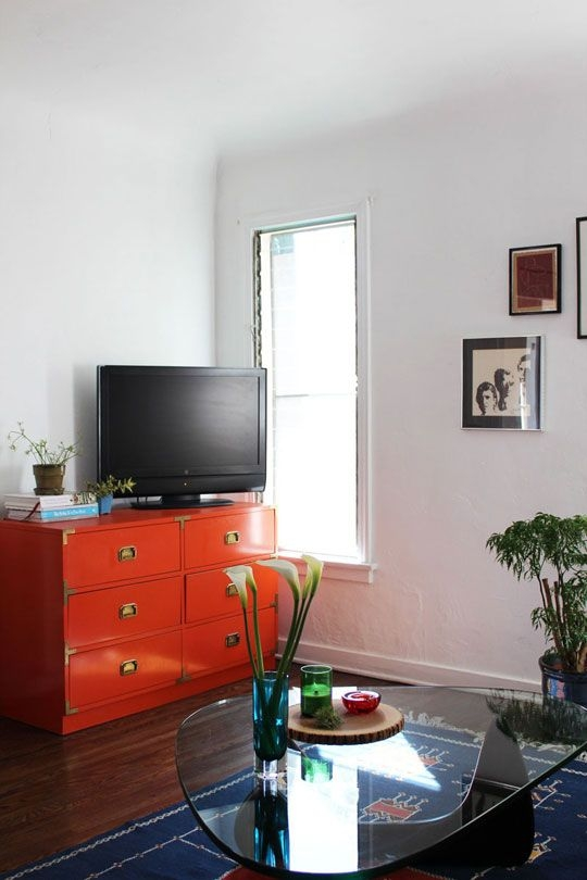 Innovative Best Orange TV Stands Throughout 14 Best Tv Stand Images On Pinterest Industrial Tv Stand Rustic (Image 35 of 50)