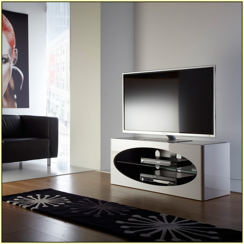 Innovative Best Oval White TV Stands Throughout Tv Stands Excellent Flat Screen Tv Stands Ikea 2017 Gallery (Image 31 of 50)