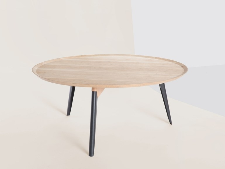 Innovative Best Round Beech Coffee Tables Within Komac Reef Round Top Bottom 600mm Diameter Whitebeech Coffee Table (Image 34 of 50)