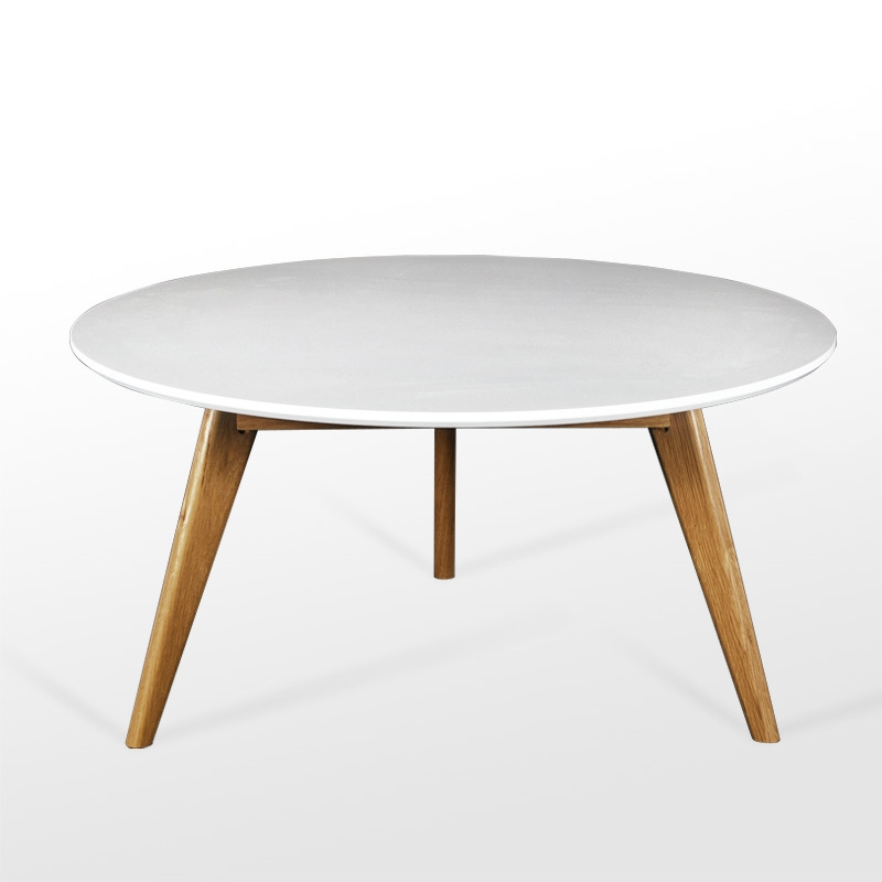 Innovative Best Round Coffee Tables With Drawer Intended For Coffee Table Amazing White Round Coffee Table Ideas Round White (Image 25 of 50)
