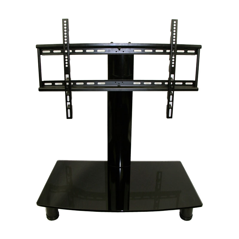 Innovative Best Storage TV Stands Throughout Universal Tabletop Tv Stand Swivel Height Adjustment Av (Image 31 of 50)