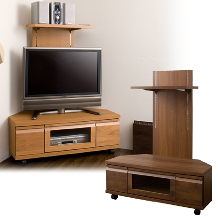 Innovative Best TV Stands With Back Panel Regarding Interior Palette Rakuten Global Market Corner Tv Board Back (Image 35 of 50)