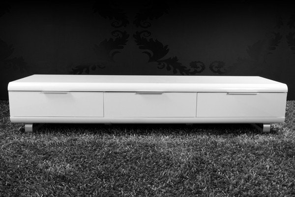 Innovative Best White Gloss TV Cabinets Throughout White Modern Tv Stand Modrest Frost Modern Small White Tv Unit (Image 29 of 50)