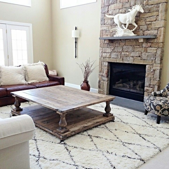 Innovative Brand New Big Square Coffee Tables In Best 20 Square Coffee Tables Ideas On Pinterest Build A Coffee (Image 25 of 50)