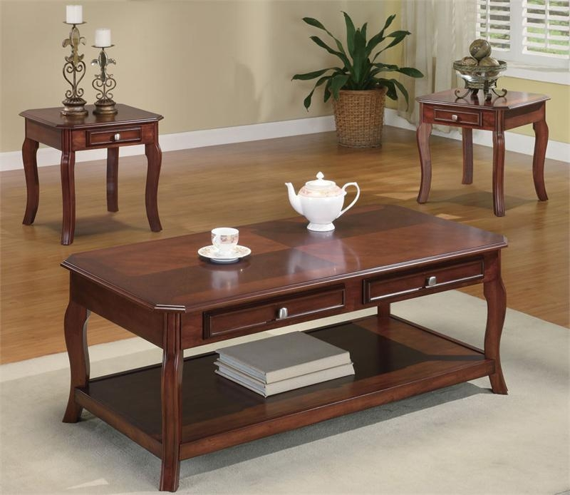 Innovative Brand New Cherry Wood Coffee Table Sets Pertaining To Cherry Wood Coffee Table (View 16 of 50)