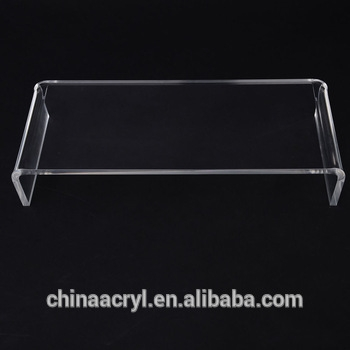 Innovative Brand New Clear Acrylic TV Stands Throughout China Supplier Factory Custom Clear Acrylic Plexiglass Tv Stand (Image 35 of 50)