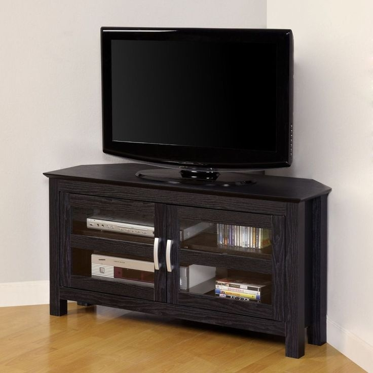Innovative Brand New Corner TV Stands For 55 Inch TV With Best 25 Black Tv Stand Ideas On Pinterest Living Room Sets Ikea (Image 30 of 50)