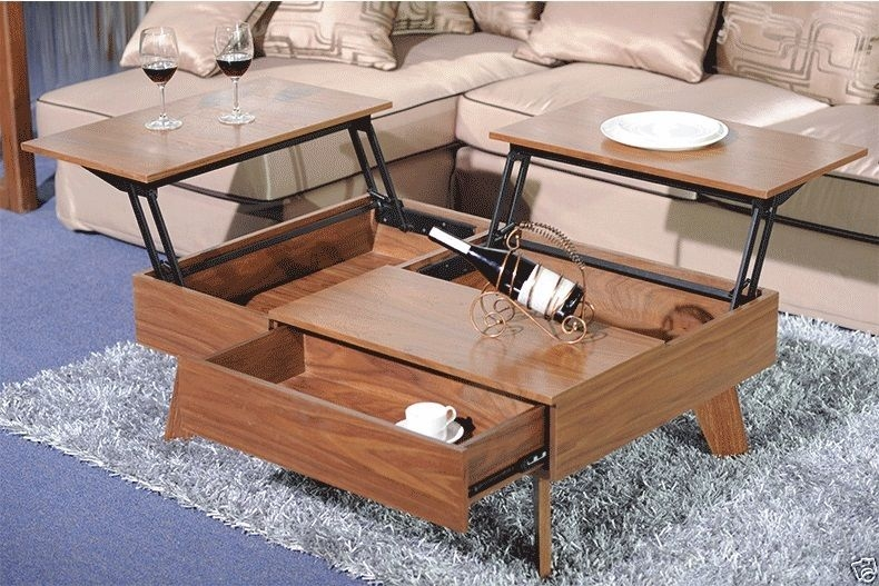 Innovative Brand New Flip Up Coffee Tables Inside Perfect Small Lift Top Coffee Table Ideas (View 3 of 50)