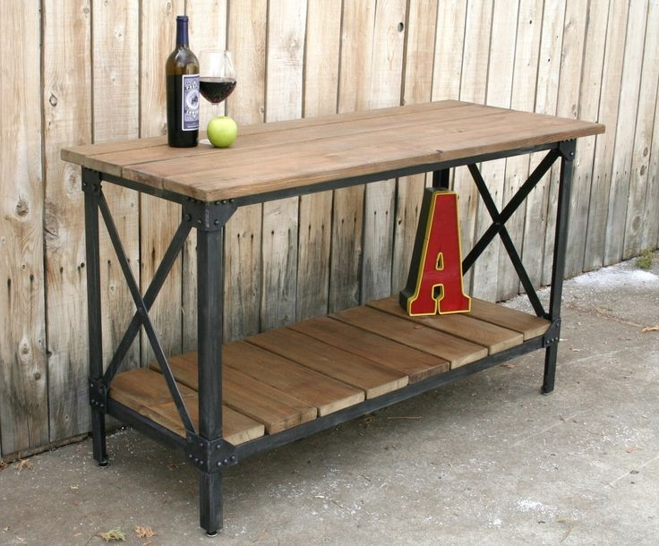 Innovative Brand New Industrial Style Coffee Tables Intended For 25 Best Industrial Style Furniture Ideas On Pinterest (Image 29 of 50)