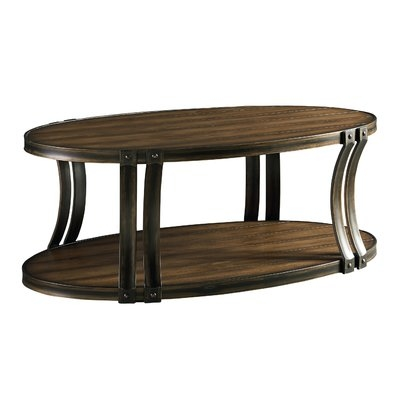 Innovative Brand New Metal Oval Coffee Tables Throughout Metal Oval Coffee Tables Youll Love Wayfairca (View 42 of 50)