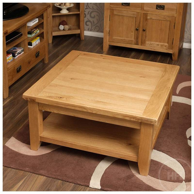 Innovative Brand New Oak Square Coffee Tables Inside Best Coffee Tables Design Rustic Square Coffee Table Design Ideas (View 39 of 50)