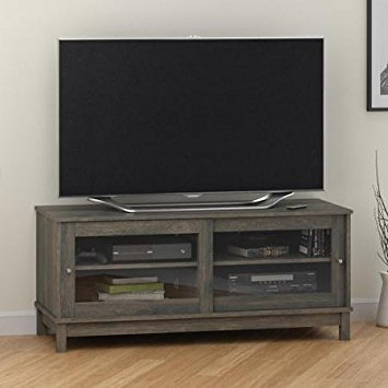 Innovative Brand New Oak TV Stands In Amazon Sleek Contemporary Style Rodeo Oak Tv Stand For Tvs (Image 31 of 50)