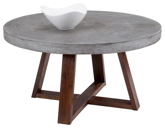 Innovative Brand New Small Circle Coffee Tables Throughout Rustic Round Coffee Table (Image 33 of 50)