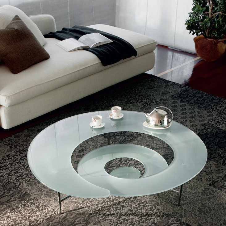Innovative Brand New Spiral Glass Coffee Table Pertaining To 24 Best Wabi Sabi Coffee Tables Images On Pinterest Coffee (Image 31 of 50)