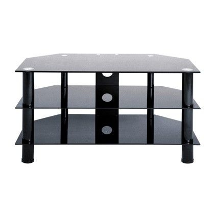 Innovative Common Black Glass TV Stands Pertaining To Best 25 Black Glass Tv Stand Ideas On Pinterest Penthouse Tv (Image 31 of 50)