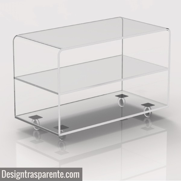 Innovative Common Clear Acrylic TV Stands In Clear Acrylic Tv Stand Shopping Online Designtrasparente (Image 36 of 50)