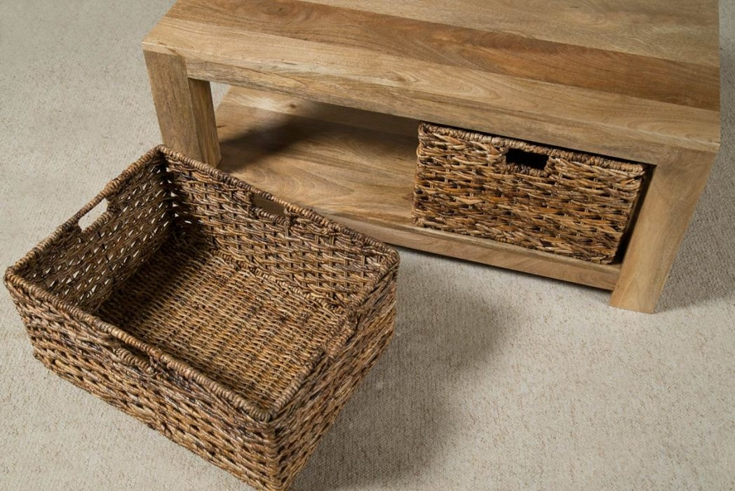Innovative Common Coffee Tables With Baskets Underneath Intended For Sara Jane Flavoredsjay Coffee Table With Baskets Under Img Thippo (Image 23 of 40)