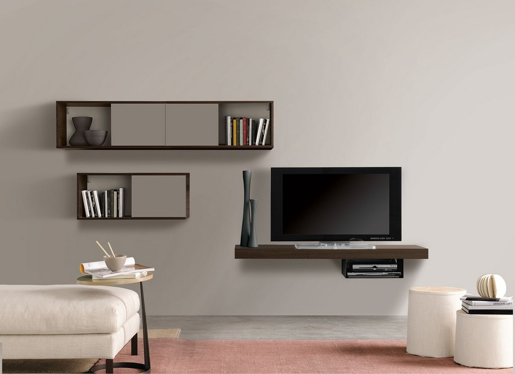 Innovative Common Corner TV Cabinets For Flat Screen Inside Modern Low Profile Tv Stand (View 49 of 50)