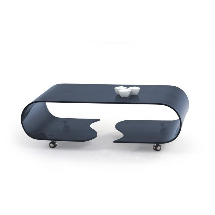 Innovative Common Curved Glass Coffee Tables Pertaining To Coffee Table With Wheels (Image 31 of 50)