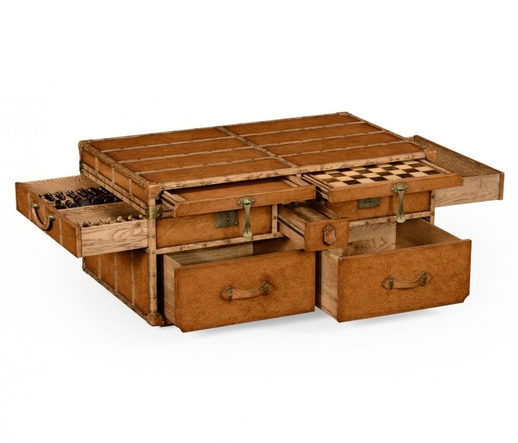 Innovative Common Dark Wood Chest Coffee Tables Intended For Furniture Chest Coffee Table For Inspiring Antique Living (Image 28 of 50)