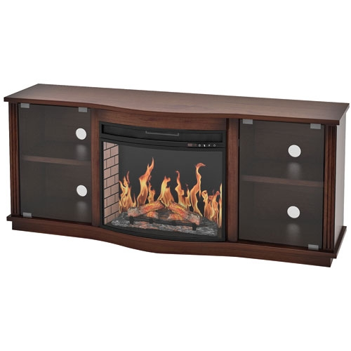 Innovative Common Expresso TV Stands Pertaining To Z Line Designs 85 Fireplace Tv Stand Espresso Tv Stands (View 47 of 50)