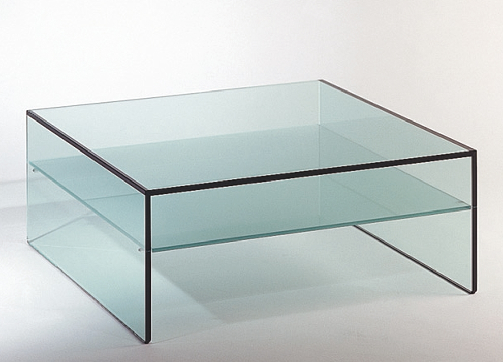 Innovative Common Glass Coffee Tables With Storage Intended For Living Room The Garcon Glass Coffee Tables Om Decor Intended For (Image 25 of 50)