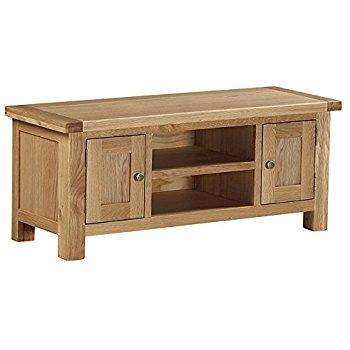 Innovative Common Light Oak TV Cabinets With Sherwood Oak Large Tv Unit Amazoncouk Kitchen Home (Image 31 of 50)