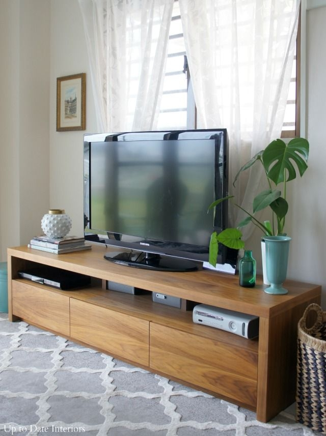 Innovative Common Long TV Stands Furniture Intended For Top 25 Best Long Tv Stand Ideas On Pinterest Diy Entertainment (Image 33 of 50)