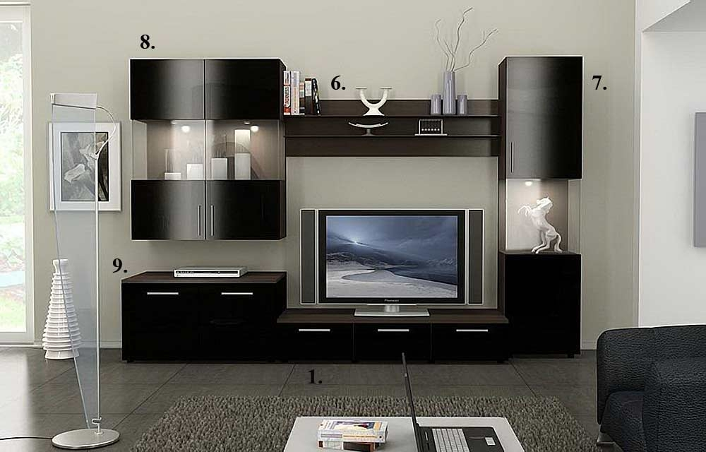 Innovative Common Modern Design TV Cabinets Pertaining To Modern Wall Cabinets Modern 2 Modern Lacquered Tv Cabinets Spazio (Image 24 of 50)