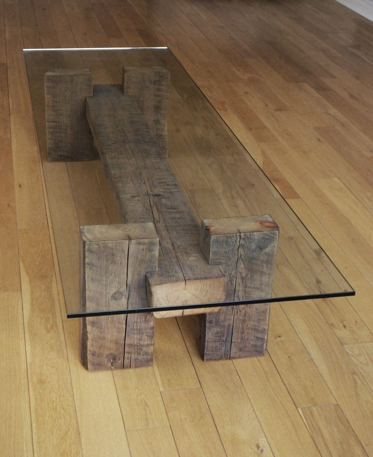Innovative Common Reclaimed Wood And Glass Coffee Tables With Best 10 Reclaimed Wood Coffee Table Ideas On Pinterest Pine (View 6 of 50)