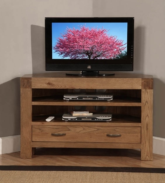 Innovative Common TV Cabinets With Drawers Inside Best 25 Oak Corner Tv Stand Ideas On Pinterest Corner Tv (Image 31 of 50)