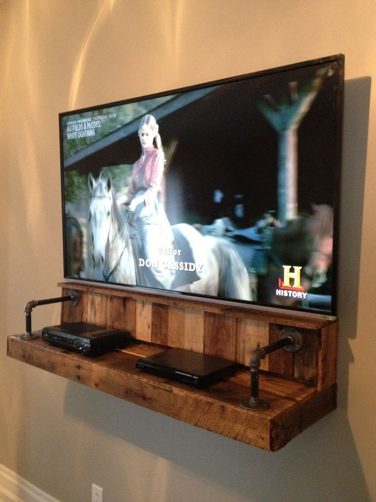 Innovative Common TV Stands Over Cable Box For Best 25 Wall Mount Tv Stand Ideas On Pinterest Tv Mount Stand (Image 23 of 50)